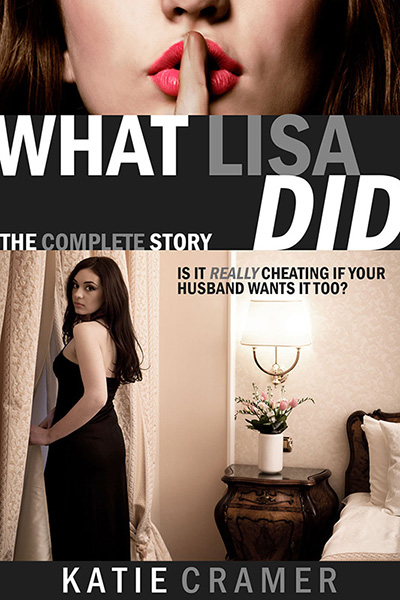 """What Lisa Did"" Cover Art"""